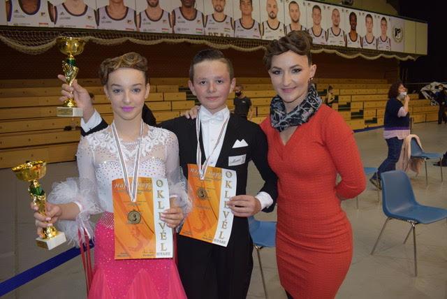 Loga Dance School a obtinut 7 medalii la Cupa HAJDU din Debrecen
